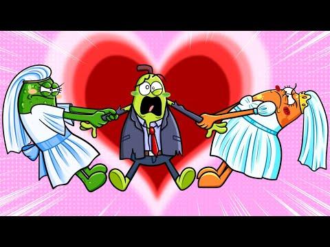 คลิปเด็ดคนดังเบื้องหลังความผิดพลาดฮา ๆ คู่รักลูกแพร์ในวันแต่งงาน เมื่อคู่รักผลไม้ต้องเจอกับเรื่องน่าประทับใจ